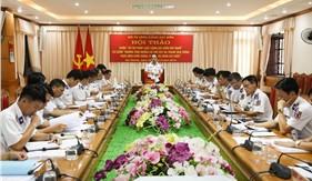 Hội thảo đóng góp ý kiến Sổ tay pháp luật Cảnh sát biển