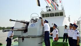 Sôi nổi ngày hội đua tài của những con tàu Cảnh sát biển