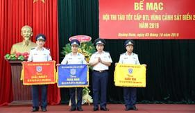 Bộ Tư lệnh Vùng Cảnh sát biển 2 tổ chức Hội thi tàu tốt năm 2019