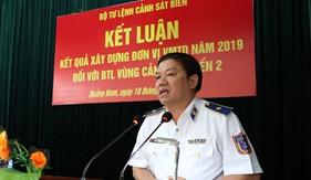 Kiểm tra kết quả xây dựng đơn vị vững mạnh toàn diện tại BTL Vùng Cảnh sát biển 2