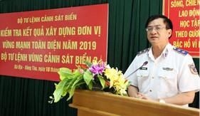BTL Vùng Cảnh sát biển 3 thực hiện tốt tiêu chuẩn xây dựng đơn vị vững mạnh toàn diện