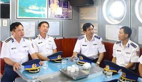 Kiểm tra kết quả xây dựng đơn vị VMTD năm 2019 tại Bộ Tư lệnh Vùng Cảnh sát biển 4