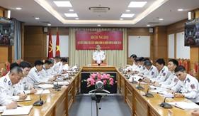 Bộ Tư lệnh Cảnh sát biển sơ kết công tác xây dựng đơn vị điểm vững mạnh toàn diện năm 2019