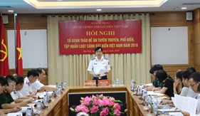 Hành trình đưa Luật Cánh sát biển Việt Nam năm 2018 vào cuộc sống