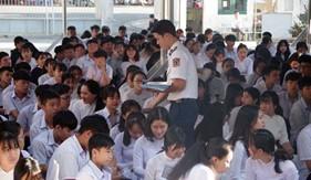 Đoàn Đặc nhiệmPCTPma túy số 3 tích cực tổ chức các hoạt động tuyên truyền trong đợt cao điểm