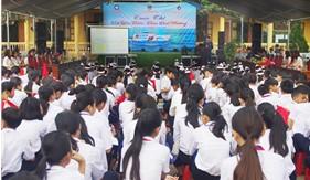 """Bộ Tư lệnh Vùng Cảnh sát biển 2 phối hợp tổ chức Cuộc thi """"Em yêu biển, đảo quê hương"""""""