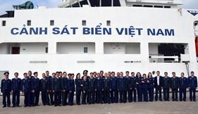 BTL Vùng Cảnh sát biển 1 gặp mặt cán bộ hưu trí nhân dịp đầu Xuân Canh Tý năm 2020