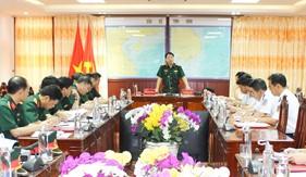 Cục Quân huấn kiểm tra công tác chuẩn bị huấn luyện năm 2020 tại Bộ Tư lệnh Vùng Cảnh sát biển 4