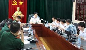Tư lệnh Cảnh sát biển trả lời phỏng vấn báo chí về vụ Trung Quốc đặt giàn khoan trái phép