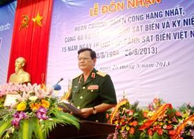 Phát biểu của Thủ trưởng Bộ Quốc phòng tại Lễ đón nhận Huân chương Chiến công hạng Nhất, công bố Quyết định đổi tên thành Bộ Tư lệnh và Kỷ niệm 15 năm thành lập lực lượng CSB Việt Nam