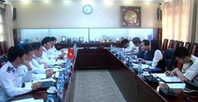 Công sứ Đại sứ quán Nhật Bản thăm và làm việc với Cảnh sát biển Việt Nam