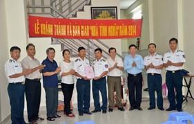 BTL Vùng Cảnh sát biển 3 tổ chức lễ khánh thành và bàn giao nhà tình nghĩa cho gia đình chính sách