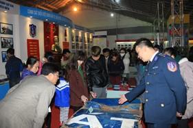 BTL Cảnh sát biển tham gia triển lãm 70 năm ngày Thành lập Quân đội nhân dân Việt Nam