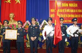 BTL Vùng Cảnh sát biển 2 tổ chức Lễ đón nhận Huân chương Bảo vệ Tổ quốc hạng Ba và thông báo Quyết định đổi tên