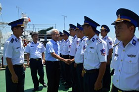Đoàn cán bộ Bộ Ngoại Giao tham quan và giao lưu với BTL Vùng CSB 1