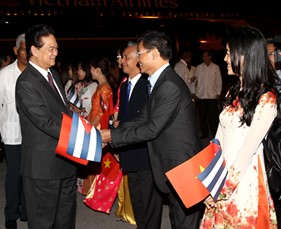 Củng cố quan hệ truyền thống đặc biệt Việt Nam - Cu-ba
