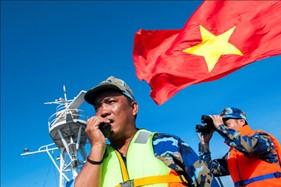 Bức ảnh về người chiến sĩ Cảnh sát biển Việt Nam được vinh danh