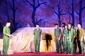 Nhà hát kịch nói Quân đội biểu diễn phục vụ cán bộ, chiến sỹ BTL Vùng Cảnh sát biển 3