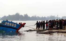 Xử lý như thế nào đối với tài sản bị chìm đắm trên biển?