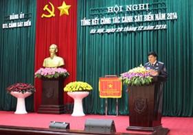 Đảng ủy - BTL Cảnh sát biển: Tổng kết công tác Cảnh sát biển năm 2014