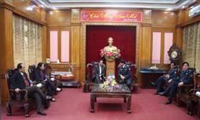 Đoàn Ủy ban về các vấn đề xã hội của Quốc hội thăm, làm việc với BTL Cảnh sát biển