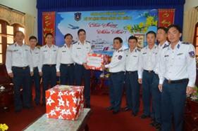 Thủ trưởng Bộ Tư lệnh Cảnh sát biển thăm, chúc Tết BTL Vùng Cảnh sát biển 2 và UBND tỉnh Quảng Nam