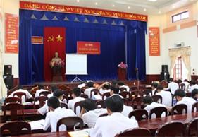 Hội nghị tập huấn pháp luật cho Cảnh sát biển năm 2013