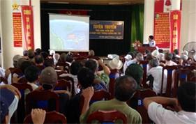Cụm ĐNPCTP ma túy số 1 Tuyên truyền biển, đảo và pháp luật phòng chống ma túy cho nhân dân