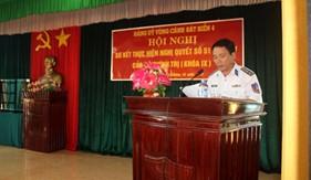Vùng Cảnh sát biển 4 thực hiện tốt nghị quyết 51/NQ-TW