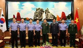 Tăng cường hợp tác cảnh sát biển Việt Nam và Hàn Quốc