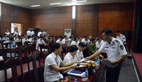 BTL Vùng Cảnh sát biển 1 tuyên truyền biển đảo tại Ban Tuyên giáo Thành ủy Hải Phòng