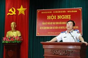 Tổng kết công tác phối hợp hoạt động giữa UBND huyện Phú Quốc, BTL Vùng Cảnh sát biển 4 và Viettel Kiên Giang năm 2016