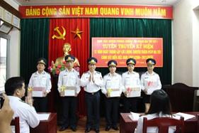Cụm ĐNPCTP ma túy số 1 tuyên truyền kỷ niệm 12 năm ngày thành lập lực lượng chuyên trách PCTP ma túy Cảnh sát biển