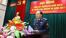 Bộ Tham mưu Cảnh sát biển tổng kết nhiệm vụ năm 2016 và triển khai nhiệm vụ năm 2017