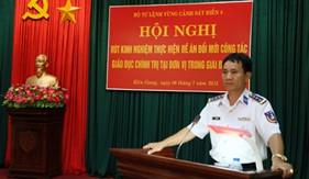 """BTL Vùng Cảnh sát biển 4 thực hiện tốt """"Đề án đổi mới công tác giáo dục chính trị trong giai đoạn mới"""", góp phần xây dựng Vùng vững mạnh về chính trị"""