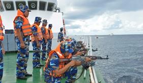 Nâng cao chất lượng huấn luyện, diễn tập vòng tổng hợp và bắn đạn thật trên biển