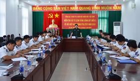 Tổng cục Chính trị kiểm tra hoạt động CTĐ, CTCT tại BTL Vùng Cảnh sát biển 3