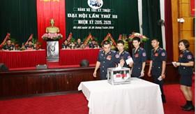 Đại hội Đảng bộ Cục Kỹ thuật Cảnh sát biển lần thứ III