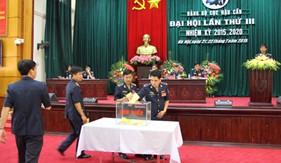 Cục Hậu cần Cảnh sát biển tổ chức Đại hội Đảng bộ lần thứ III