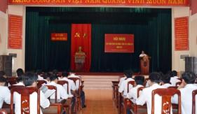 BTL Vùng CSB 2 tổ chức tập huấn công tác đảng, công tác chính trị năm 2016