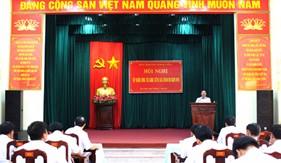 BTL Vùng Cảnh sát biển 4 tổ chức Hội nghị Tập huấn công tác đảng, công tác chính trị năm 2016