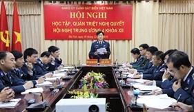 Xây dựng Đảng bộ và Lực lượng Cảnh sát biển vững mạnh, phấn đấu hoàn thành xuất sắc nhiệm vụ năm 2017