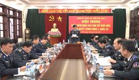 Đảng uỷ Cảnh sát biển Hội nghị Kiểm điểm năm 2016 gắn với thực hiện NQTW4, khoá XII của Đảng