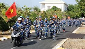 Lực lượng Cảnh sát biển sôi nổi hưởng ứng Ngày chạy thể thao CISM năm 2017
