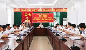 Phát huy vai trò tiền phong, gương mẫu của đảng viên  gắn với thực hiện Nghị quyết Trung ương 4 (Khóa XII)  trong Đảng bộ Cảnh sát biển