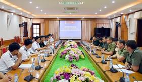 Hãng Thông tấn xã quân sự các lực lượng vũ trang Cộng hòa Bê-la-rút thăm, làm việc tại BTL Vùng Cảnh sát biển 1