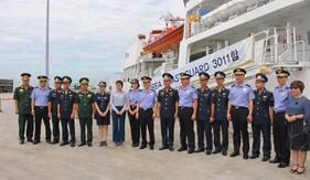 Tàu Lực lượng Bảo vệ bờ biển Hàn Quốc thăm hữu nghị Việt Nam tại Đà Nẵng