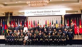 Hội nghị những người đứng đầu Cảnh sát biển toàn cầu tại Nhật Bản