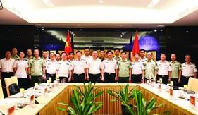 Cảnh sát biển Việt Nam - Trung Quốc tăng cường hợp tác