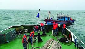 BTL Vùng Cảnh sát biển 1 nâng cao năng lực tìm kiếm, cứu hộ, cứu nạn trên biển